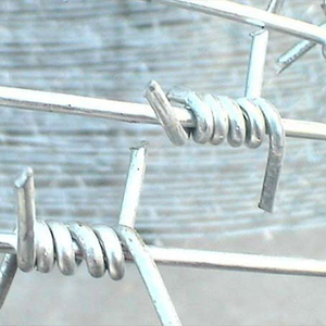 Single Strand Twist Barbed Wire